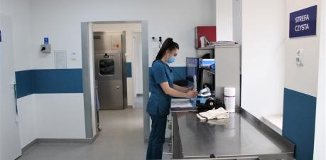 Remont Sterylizatorni przy Szpitalu w Poniatowej